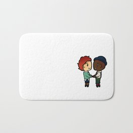 Wylan x Jesper - Six of Crows / Crooked Kingdom (B) Bath Mat