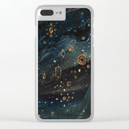 The Veil of Night Clear iPhone Case