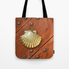Gold shell Tote Bag