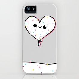 heart of ice (cream) iPhone Case