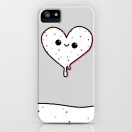 heart of ice (cream) iPhone Case