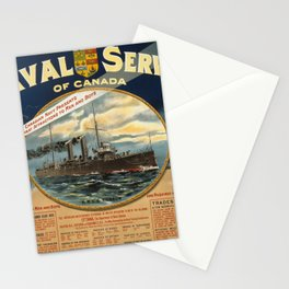 Vintage poster - Naval Service of Canada Stationery Cards