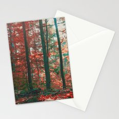 into the woods 11 Stationery Cards