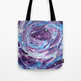 Galaxy of Spirals Tote Bag