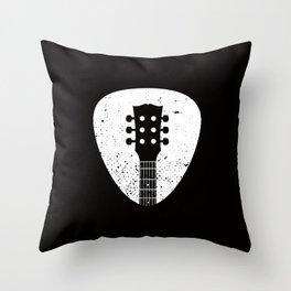 Rock pick Throw Pillow
