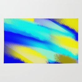 Abstract Flames Rug