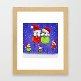 Tis' The Season Framed Art Print