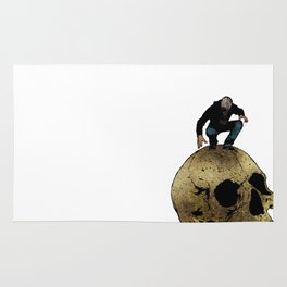 Leroy And The Giant's Giant Skull Rug