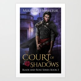 Court of Shadows Book Cover Art Print