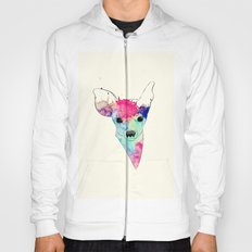 Watercolor Fawn Hoody