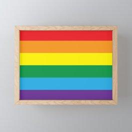 Rainbow Pride Framed Mini Art Print