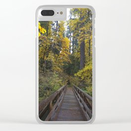 Crossing the Bridge Clear iPhone Case