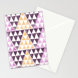 Triangles 2 Stationery Cards