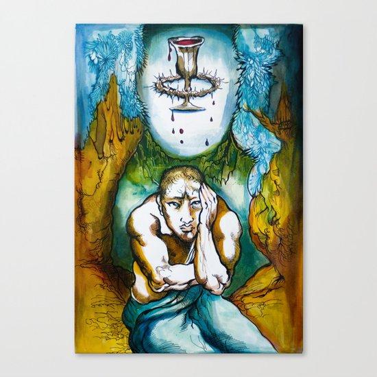 Agony in Gethsemane  Canvas Print
