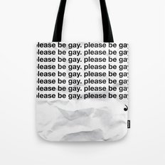 The Sacred Chant of the Homosexual Tote Bag