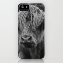 Highland cow III iPhone Case
