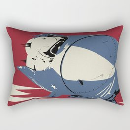 Give 'Em Hell! Rectangular Pillow