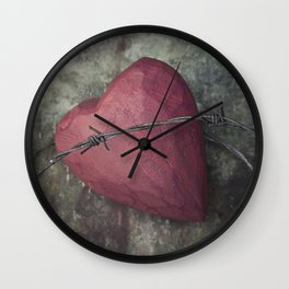 Trapped Heart III Wall Clock