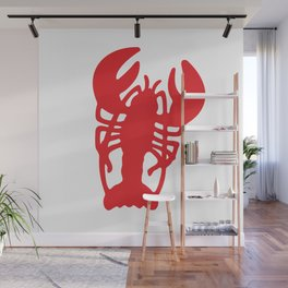Red Lobster Wall Mural