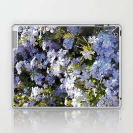 a violet flower in the heart of Athens Laptop & iPad Skin