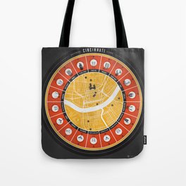 Cincinnati Drinking Guide Tote Bag