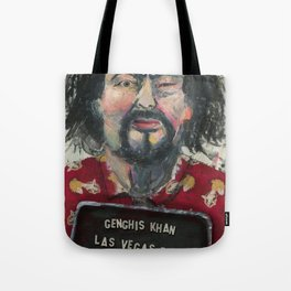 Genghis Khan's Vegas Arrest Tote Bag