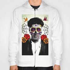 Musician Sugar Skull Painting Hoody