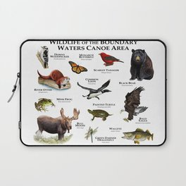 Wildlife of the Boundary Water Canoe Area Laptop Sleeve