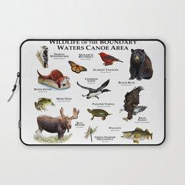 Wildlife of the Boundary Water Canoe Area Laptop Sleeve