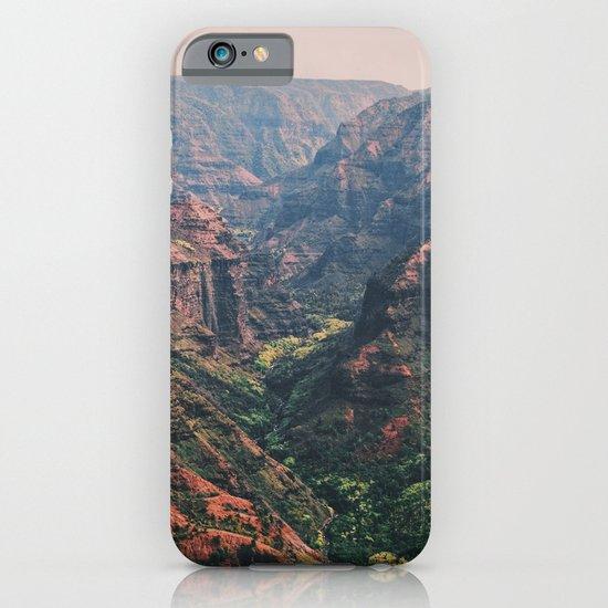 Vintage Hawaii Canyon iPhone & iPod Case