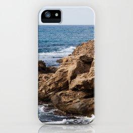 Mediterranean Sea at Caesarea Israel iPhone Case