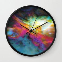 Left In Wall Clock