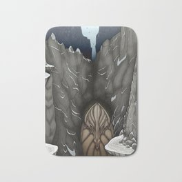 The White Dragon Lair Bath Mat