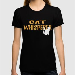 Cat Whisperer Graphic T Shirt T-shirt