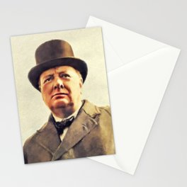 Winston Churchill, Prime Minister Stationery Cards