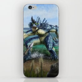Lake Monster iPhone Skin
