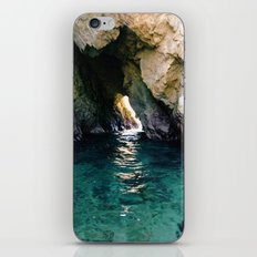 Colorful Ocean Cave iPhone & iPod Skin
