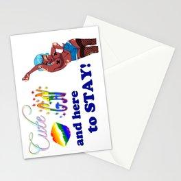 Gay/Vitiligo Pride Cuties Stationery Cards