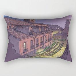 Medieval Fair (color) Rectangular Pillow