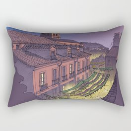 Medieval Fair (color) Rectangular Pillow