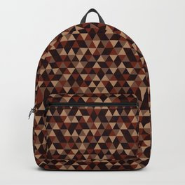 Colorful Triangles Pattern 2 Backpack