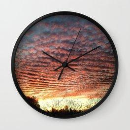 Rolling Skies Wall Clock