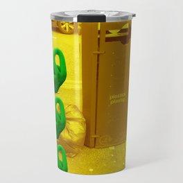 Rubbish (Yellow/Green) Travel Mug