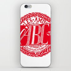 ABC Society iPhone & iPod Skin