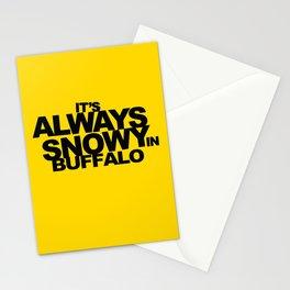 ALWAYS SNOWY Stationery Cards