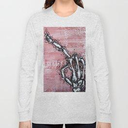 Sensitive Skelly hand Long Sleeve T-shirt