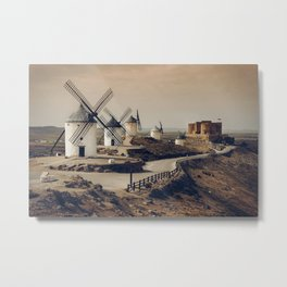 Mills of Don Quixote Metal Print
