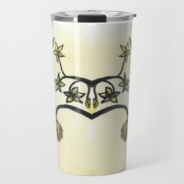 Chinese Flowers Travel Mug