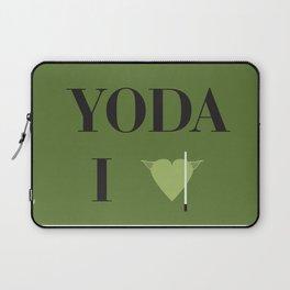 I heart Yoda Laptop Sleeve