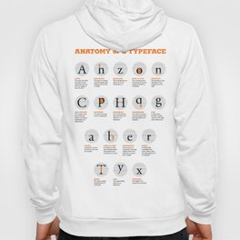 Anatomy of a Typeface Hoody